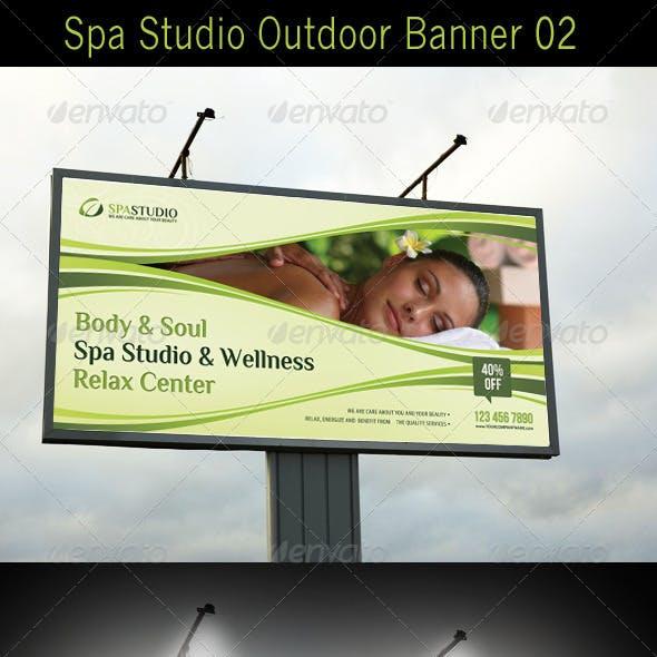 Spa Studio Outdoor Banner 02