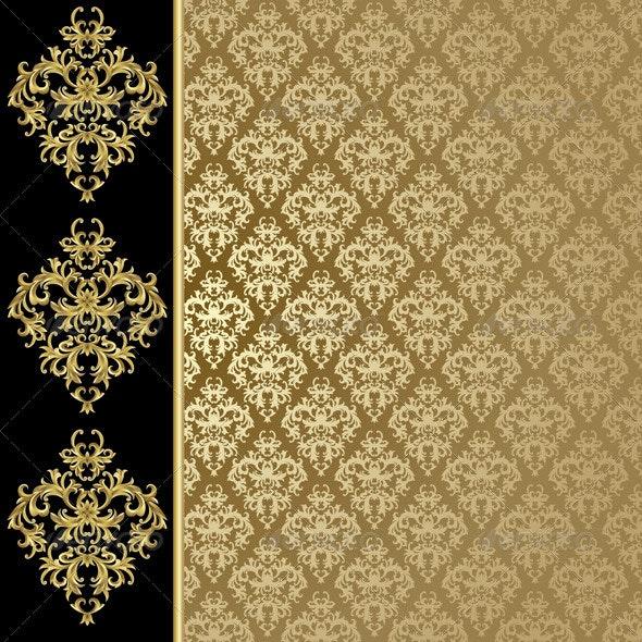 Golden background  - Backgrounds Decorative