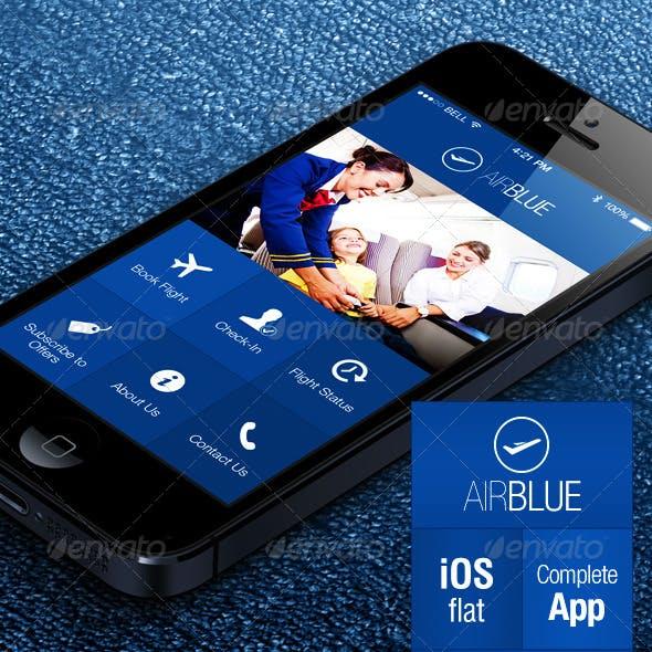AirBlue - Flight Ticket Booking App