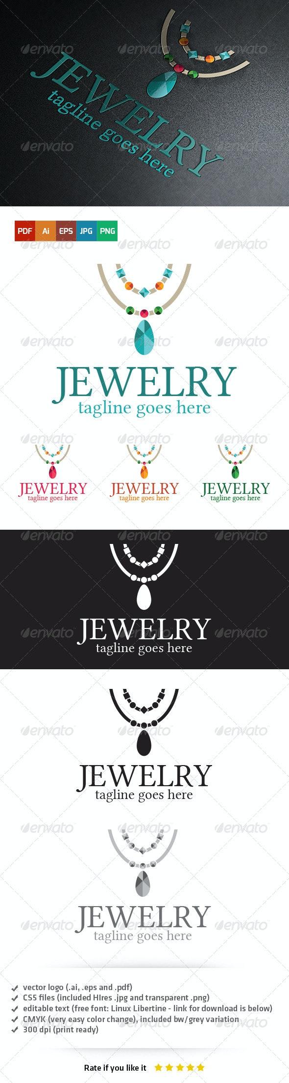 Jewelry Logo - Objects Logo Templates