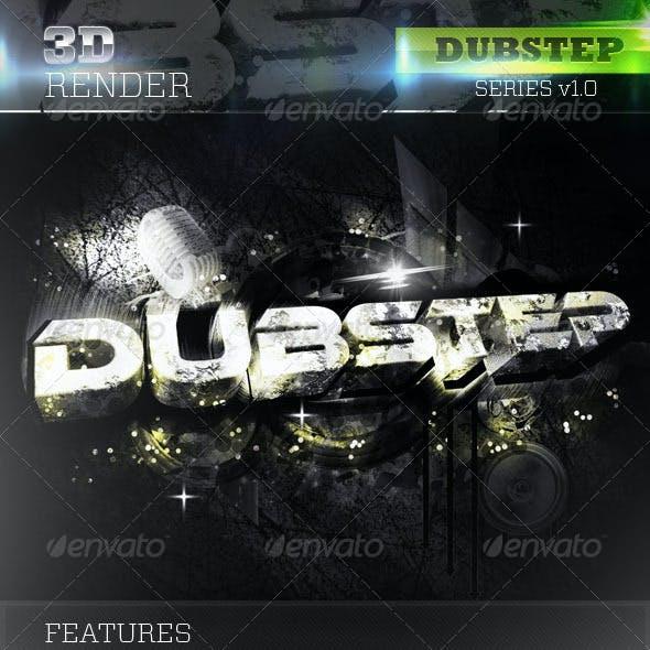 3D Dubstep Text