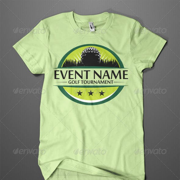 Golf Tournament T-Shirt Design