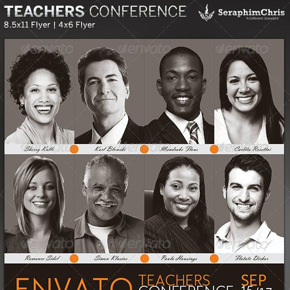 Teachers Conference: Flyer Template