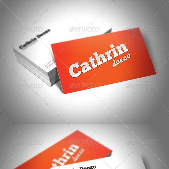 Creative Designer's Business Card