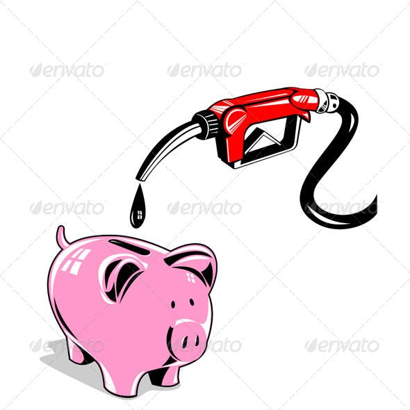 Fuel Pump Station Nozzle and Pig