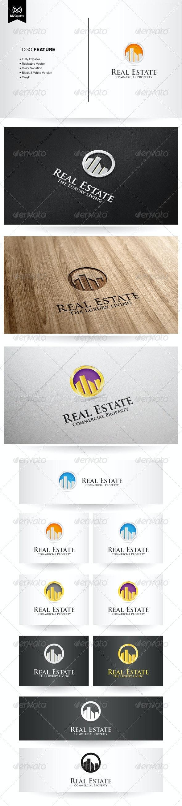 Commercial Real Estate Logo - Buildings Logo Templates