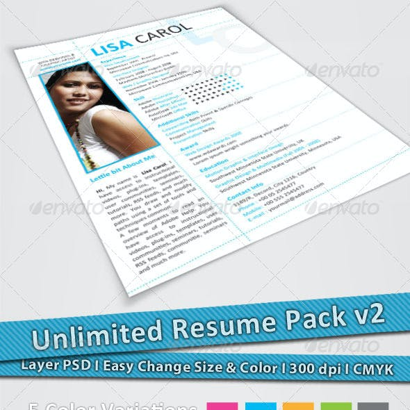 Unlimited Resume Pack v2