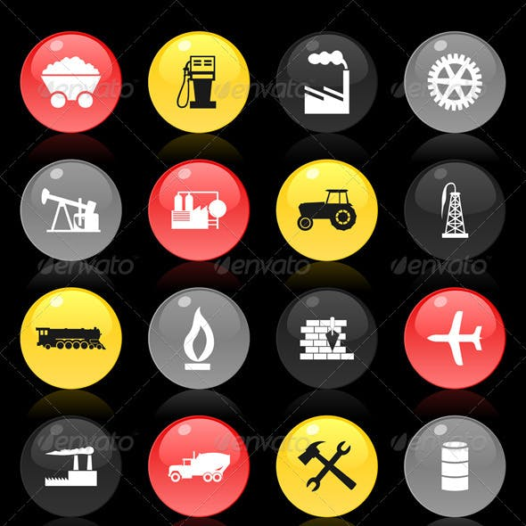 Industrial buttons