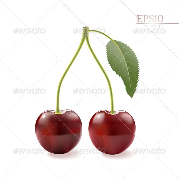Cherries - Food Objects