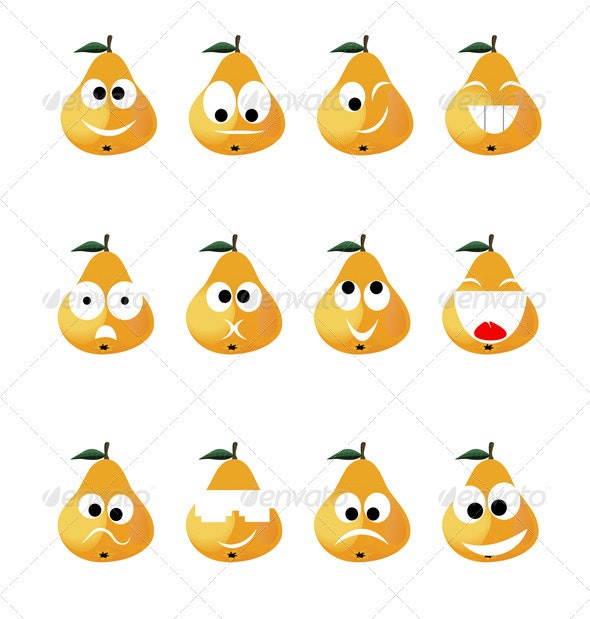 Pear smile - Miscellaneous Characters