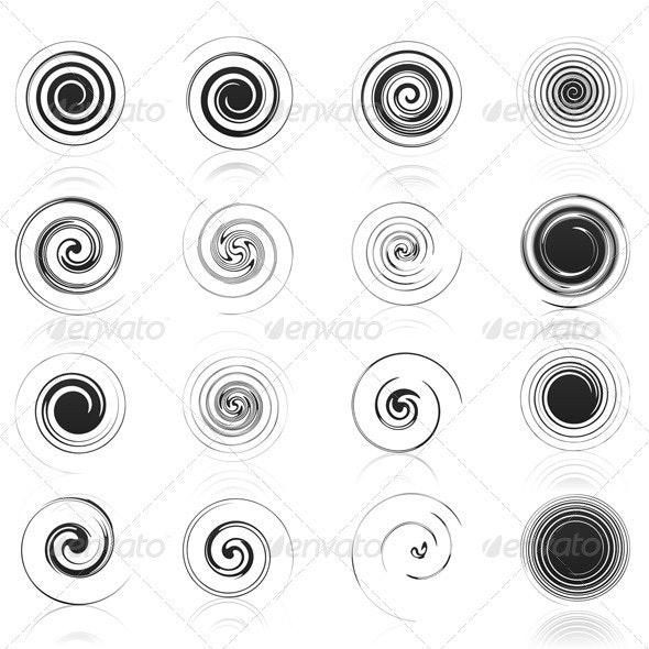 Spiral icon - Decorative Symbols Decorative