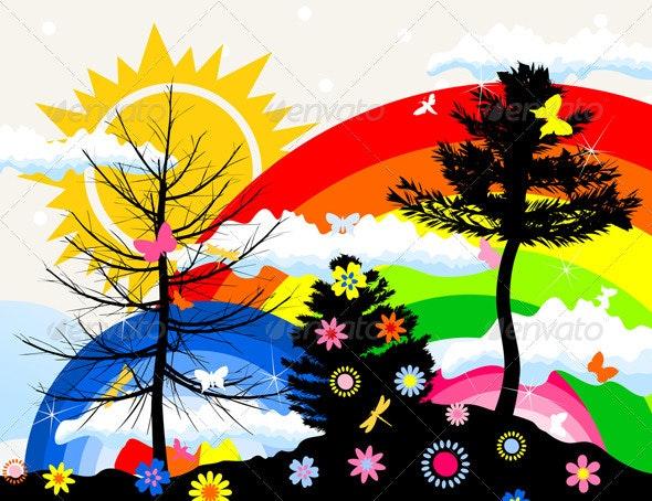 Wood2 - Flowers & Plants Nature