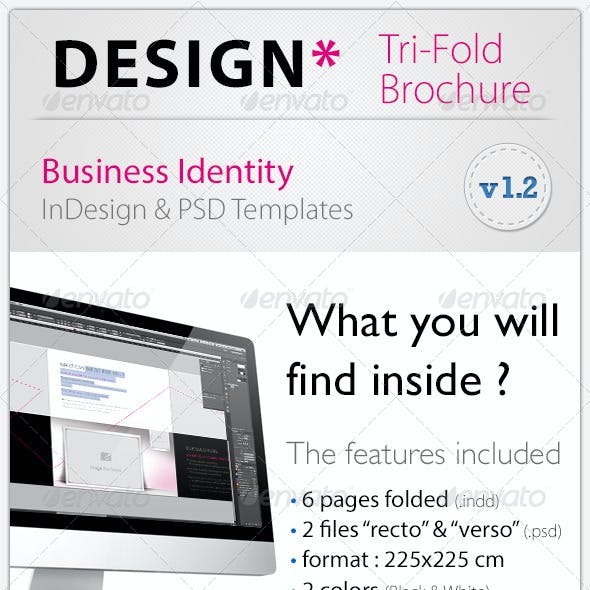 DESIGN* Tri-Fold Brochure