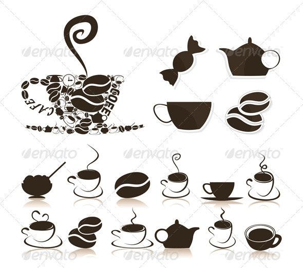 Coffee7 - Food Objects