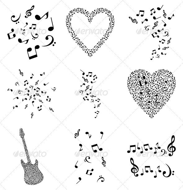 Musical note4 - Miscellaneous Vectors