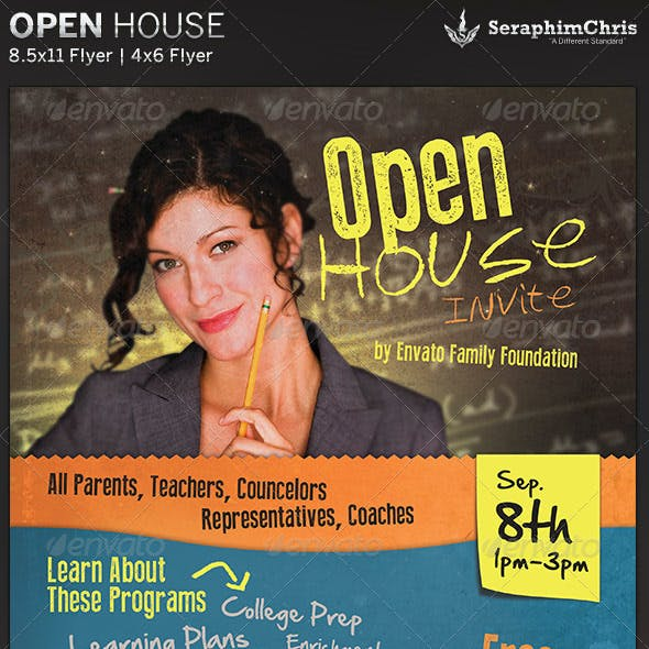 Open House: Flyer Template