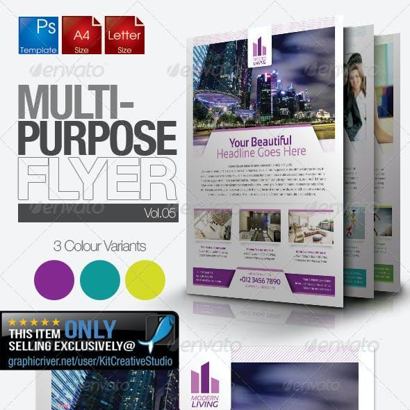 Multipurpose Business Flyer Vol.5