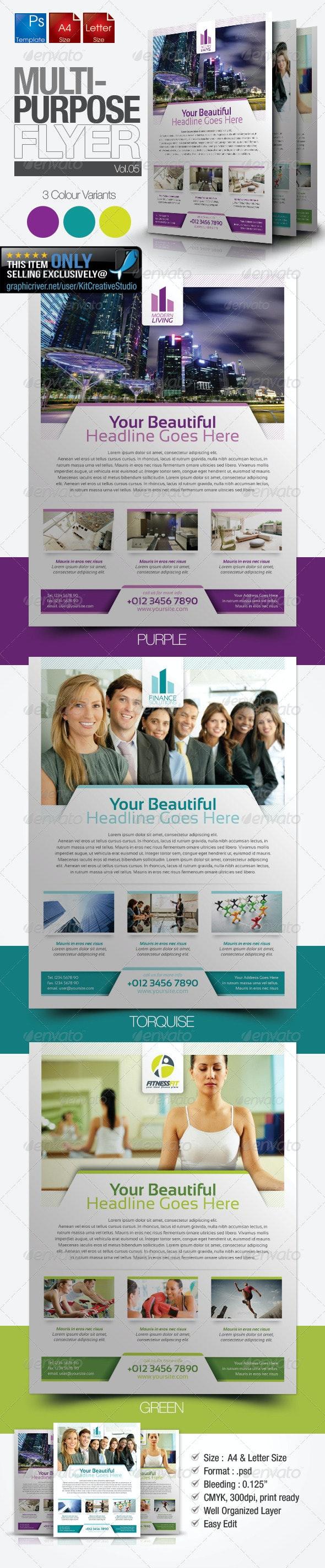 Multipurpose Business Flyer Vol.5 - Miscellaneous Events