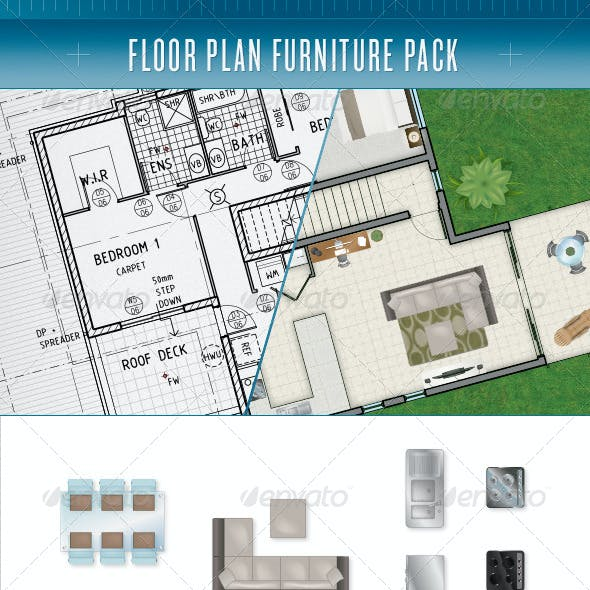 Floor Plan Furniture Pack
