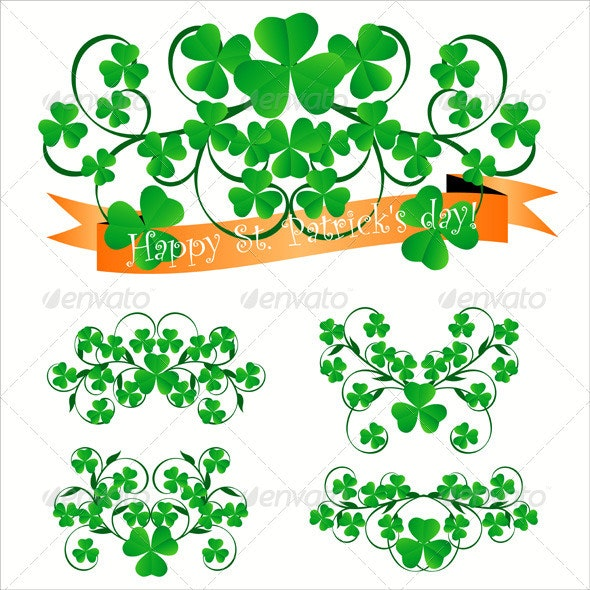 St. Patrick's Day Ornaments - Seasons/Holidays Conceptual