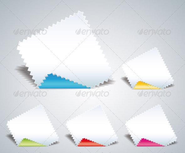 Serrated Paper
