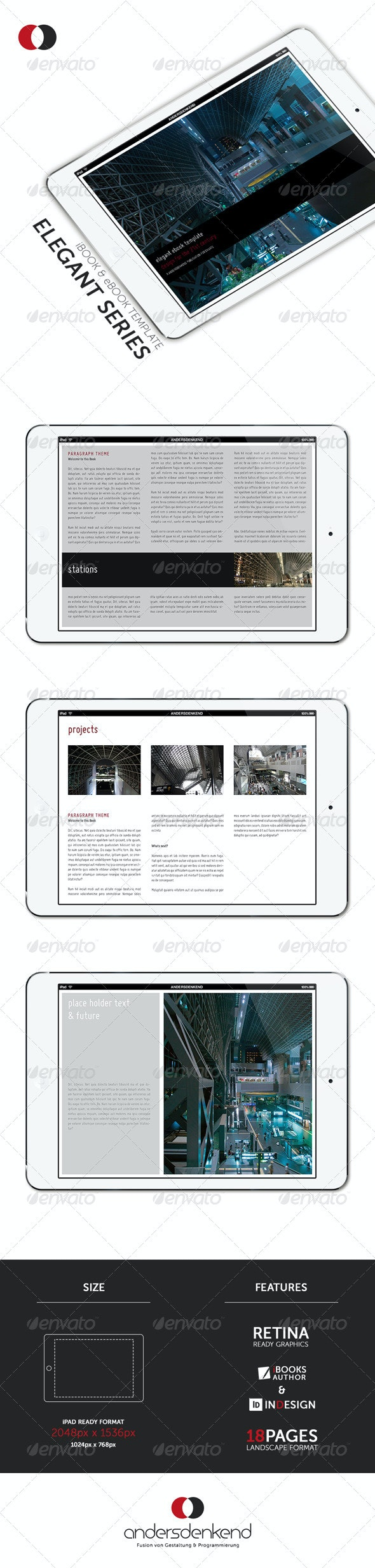 Modern Tablet Template - Vol.1 - ePublishing