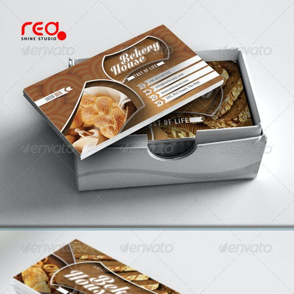 Bekery House Business Card Set