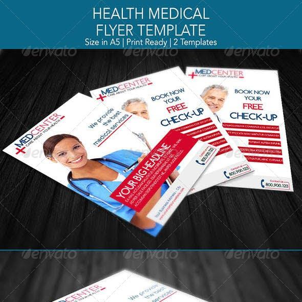 Health Medical Flyer Template