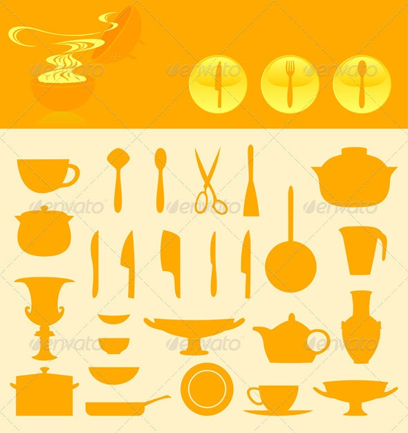 Ware icons - Food Objects