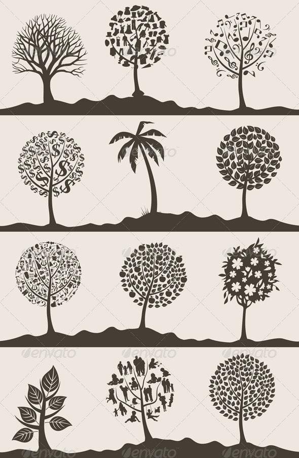 Wood tree2 - Flowers & Plants Nature