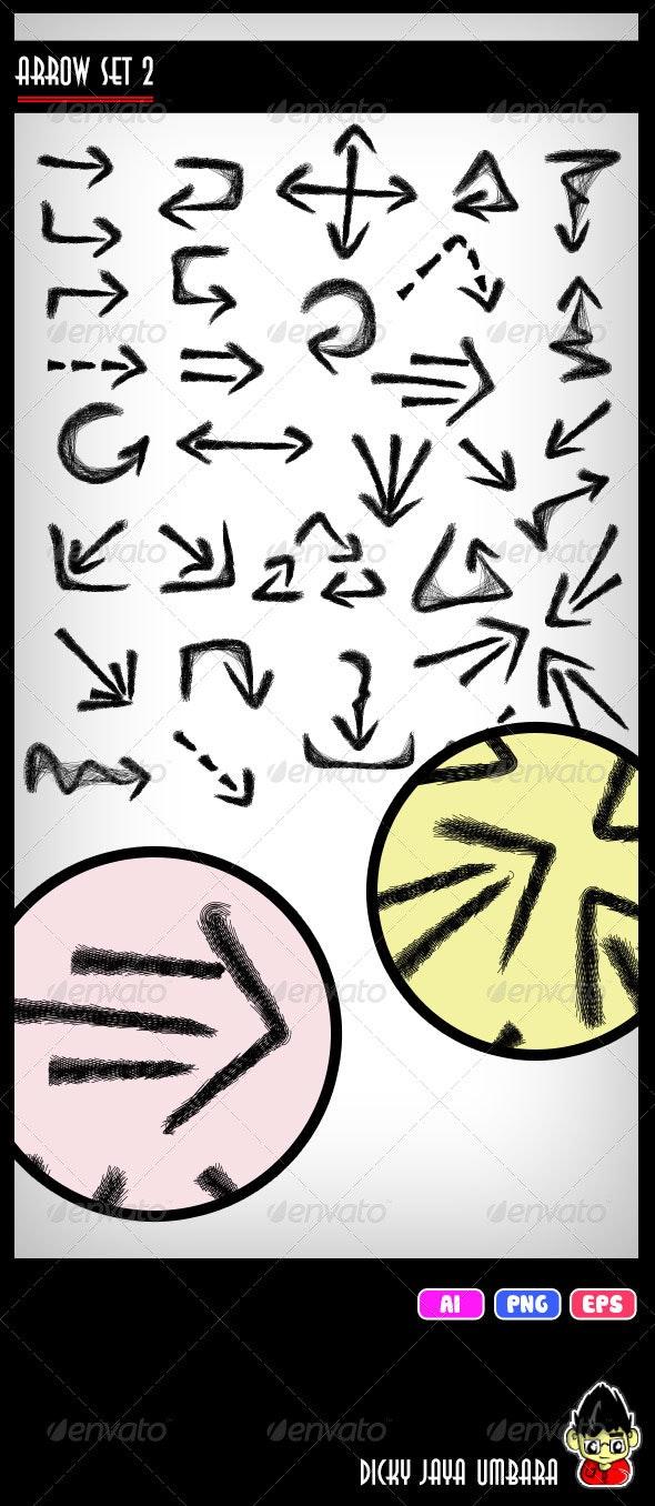 Arrow Set 2 - Web Elements Vectors