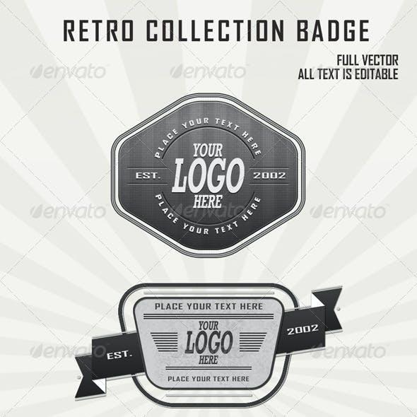 Retro Badges Collection vol2