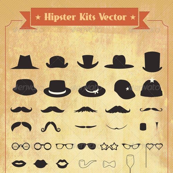 Hipster Kits Vector