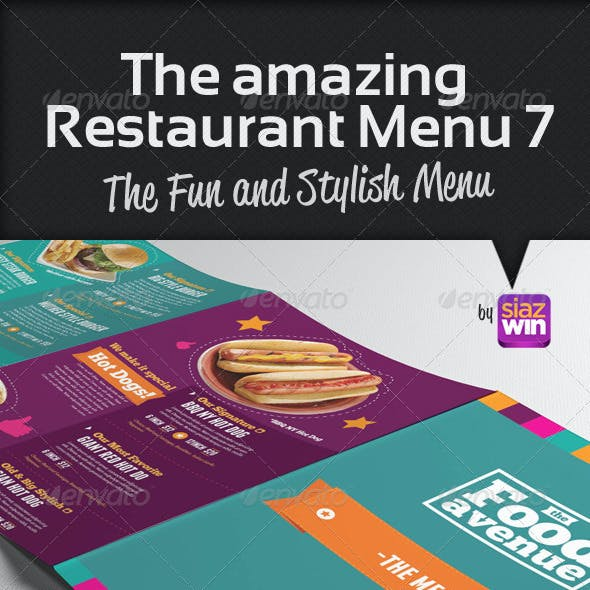 The Restaurant Menu 7