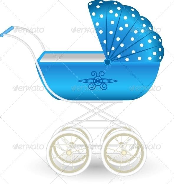Blue Pram