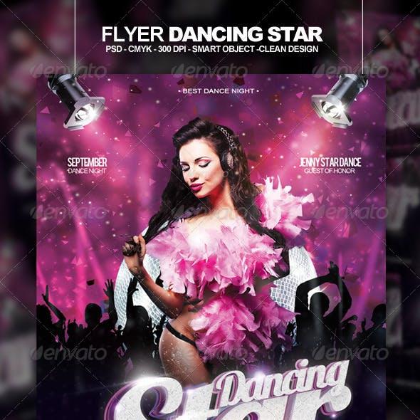 Flyer Dancing Star