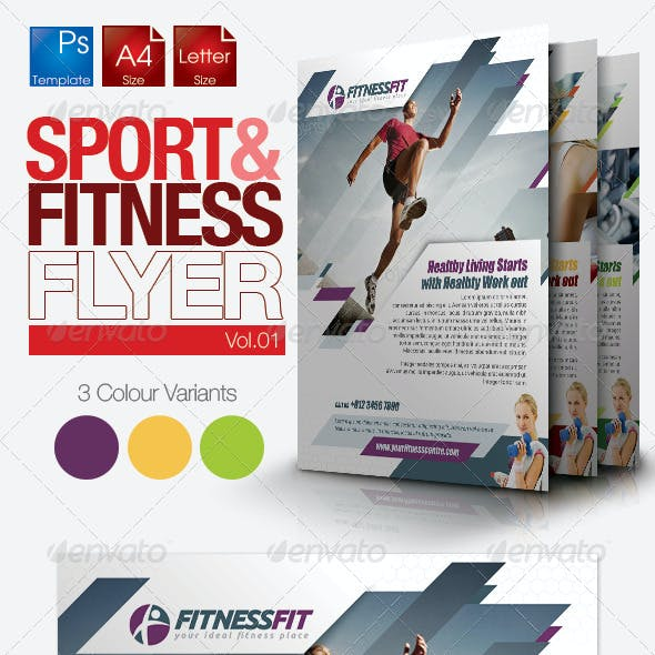 Fitness Flyer Vol.1
