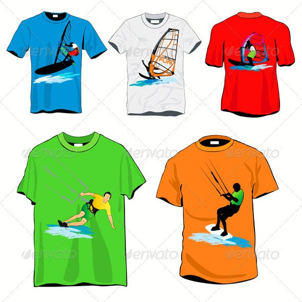 Surfers T-shirts Set