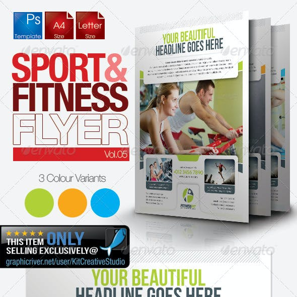 Fitness Flyer Vol.5