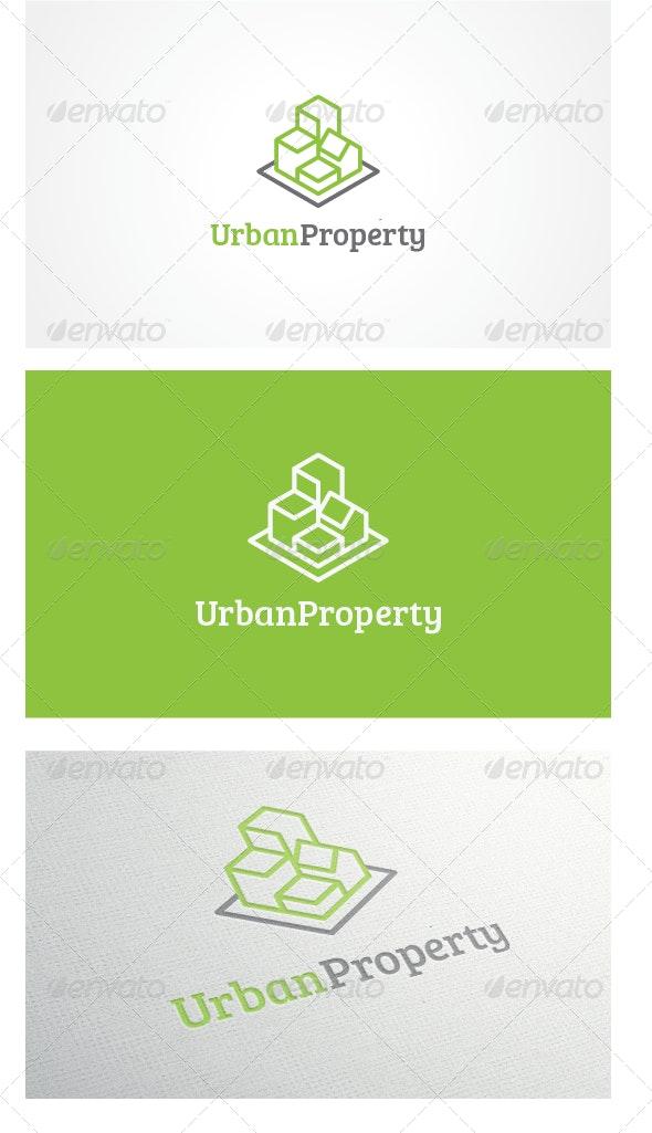 Urban Property Logo Template - Buildings Logo Templates