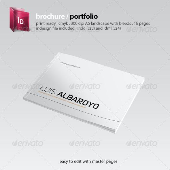 Indesign Brochure / Portfolio Template