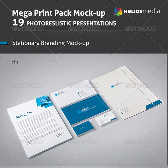 Branding / Identity Mockup 3