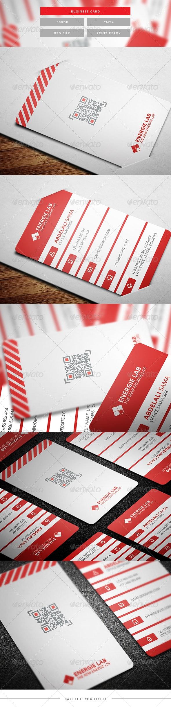 Corporate Business Card 6 - Corporate Business Cards