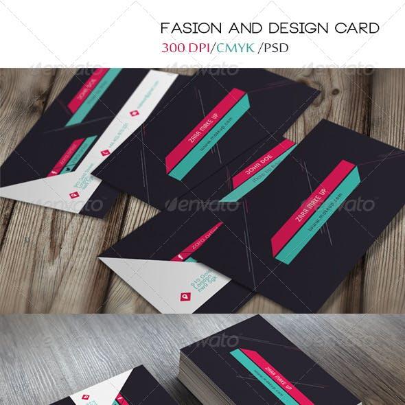 Design & Fashion Business Card