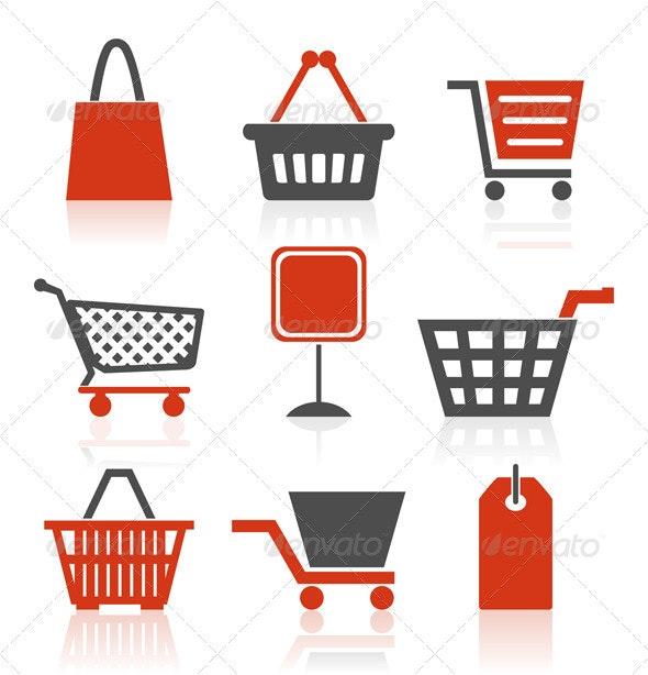 Icon sale - Commercial / Shopping Conceptual