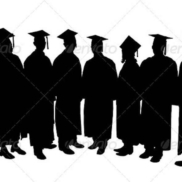 Graduates Silhouette