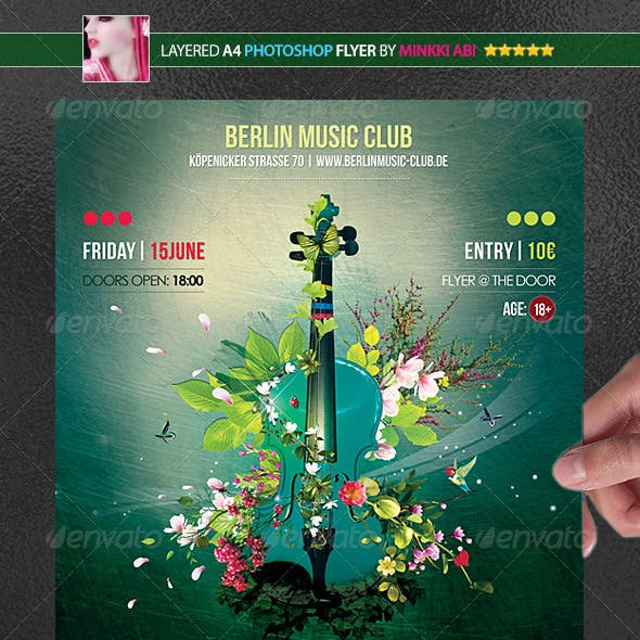 Music Magic Poster/Flyer