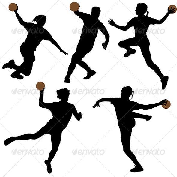 Handball Silhouette