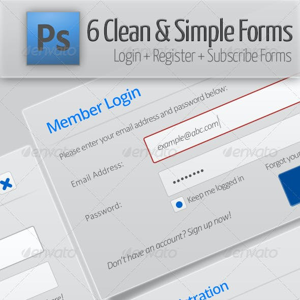 Clean & Simple Forms