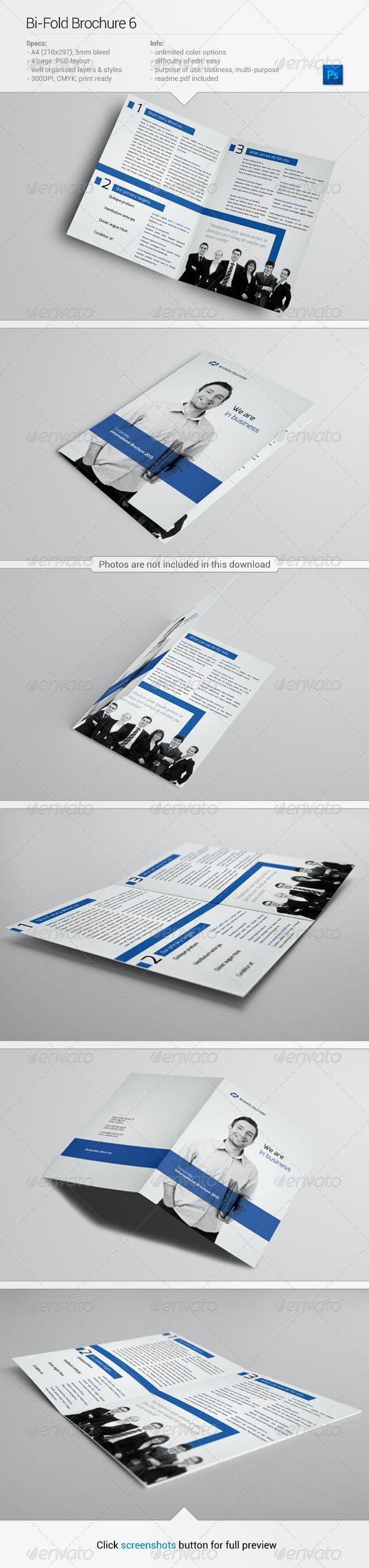 Bi-Fold Brochure 6 - Corporate Brochures